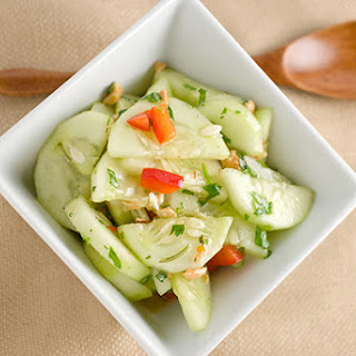Sweet-Hot Thai-Style Cucumber Salad