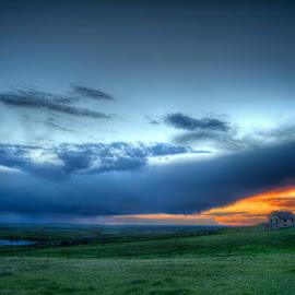 Towards the Sunset by Michele Richter - Landscapes Prairies, Meadows & Fields ( mrichterphotos )