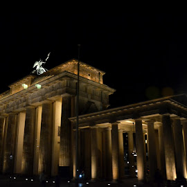 Brandenburg Gate  by Tim Laborde - Buildings & Architecture Public & Historical ( wwii, germany, berlin, brandberg, gate )