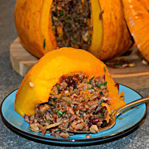 Roast Stuffed Pumpkin