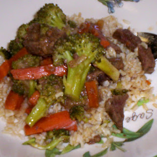 Oriental Beef and Broccoli