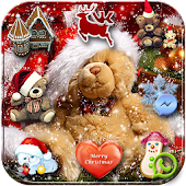 Free Joyful Christmas teddy Theme APK for Windows 8