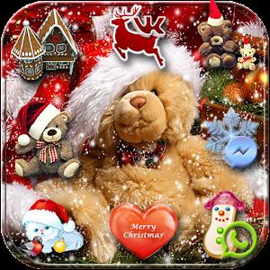 Рождество плюшевого Xmas Тема