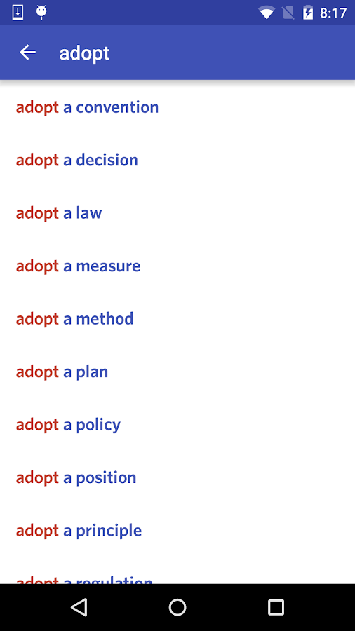 English Collocations Pro Screenshot 2