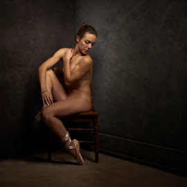 In the Corner by Dennis Bater - Nudes & Boudoir Artistic Nude