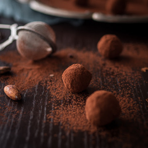 Red Wine Chocolate Truffles