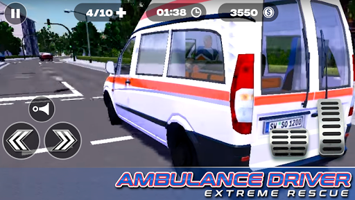 Ambulance Driver Extreme Rescue For PC