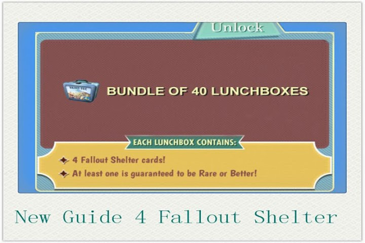 android RP Guide for Fallout Shelter Screenshot 2