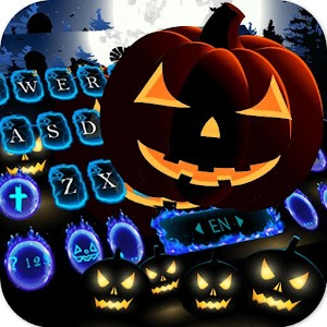 Cool Ghost Midnight Keyboard Theme