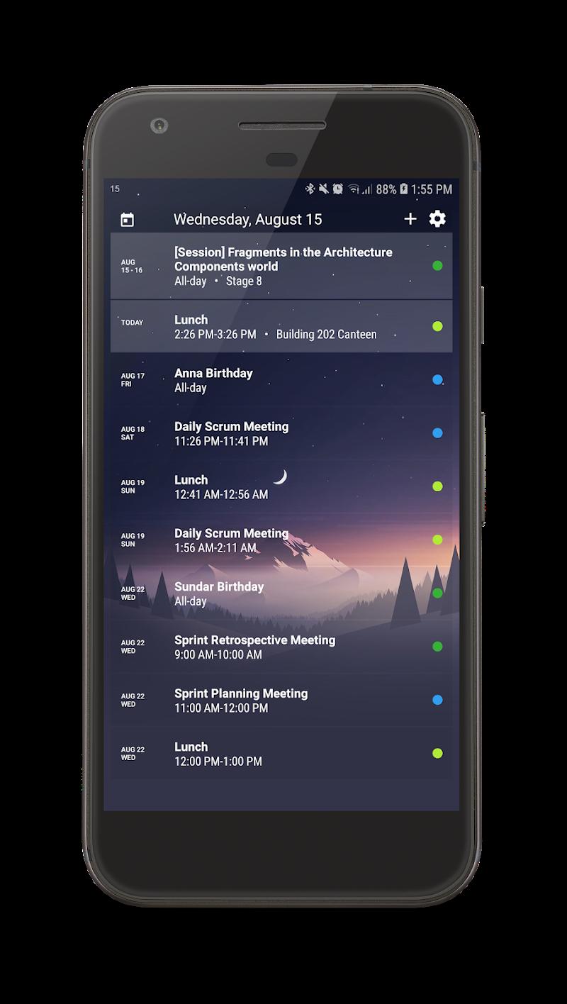 Your Calendar Widget Screenshot 4
