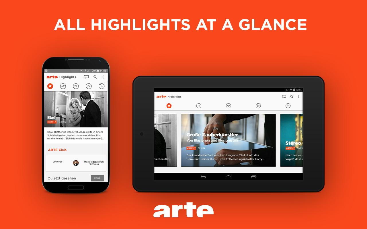 ARTE – Streaming and Catch-up Screenshot 10