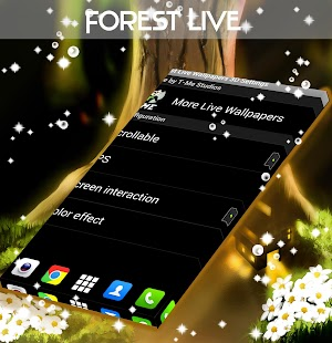 Forest Live Wallpapers 3D - screenshot