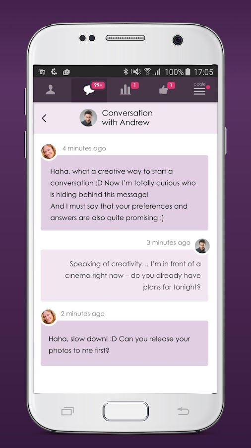 C-Date – Dating with live chat Screenshot 2