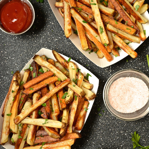 Crispy Baked Seasoned Fries