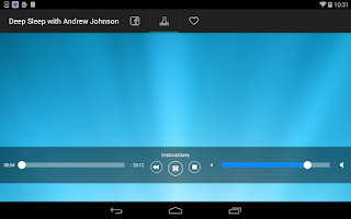 Screenshot of Deep Sleep with Andrew Johnson