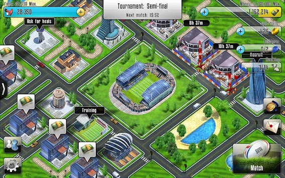 Rugby Manager APK screenshot thumbnail 12