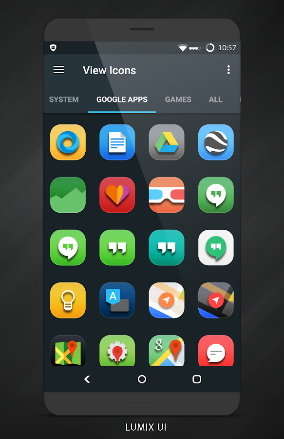 Lumix UI - Icon Pack Screenshot 4