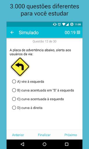 Simulados Detran - Provas screenshot 1