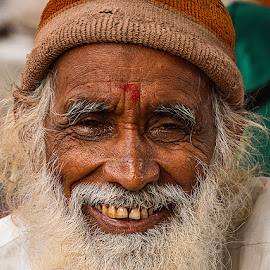 Painful Smile by Rakesh Syal - People Portraits of Men