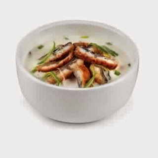 Creamy Soup With Eel
