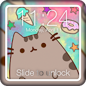 Kawaii Pusheen Cat Anime App Lock
