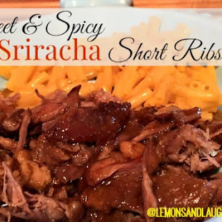 Sweet and Spicy Sriracha Short Ribs