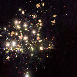 A blast by Karen McLarnon - Abstract Fire & Fireworks