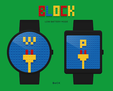 Block watchface by BeCK - screenshot