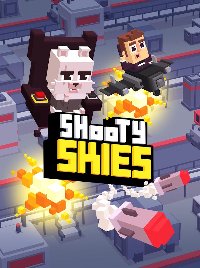 Shooty Skies - Arcade Flyer Screenshot 18