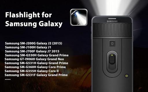 Flashlight for Samsung screenshot 5