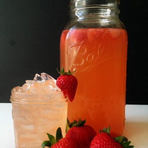 Strawberry Ginger Switchel