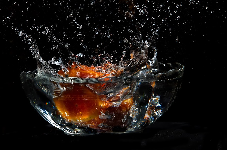 by Debkumar Majumder - Novices Only Abstract ( water, fruit )