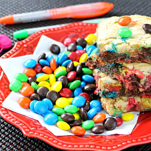 M&M's® Cookie Bar Obsession