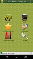 Screenshot of Quran Bahasa Melayu Pro