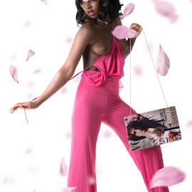 Pink Fashion by Tom Fensterseifer - Nudes & Boudoir Artistic Nude ( high key, studio, nude fashion, woman )
