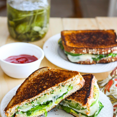 Green Goddess Grilled Cheese Sandwiches