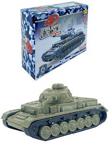 "4D Пазл cерии ""Город Игр"" танк ""Panzer IV"" M"