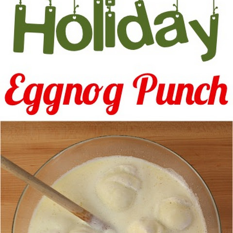 Holiday Eggnog Punch