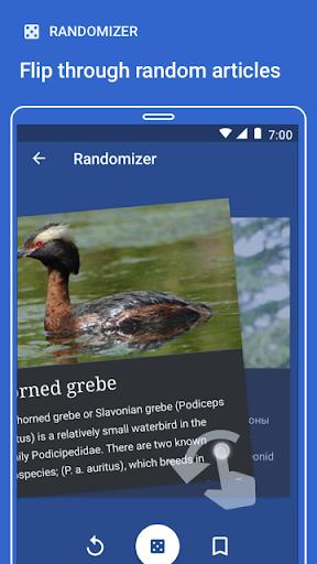 Wikipedia Beta screenshot 7