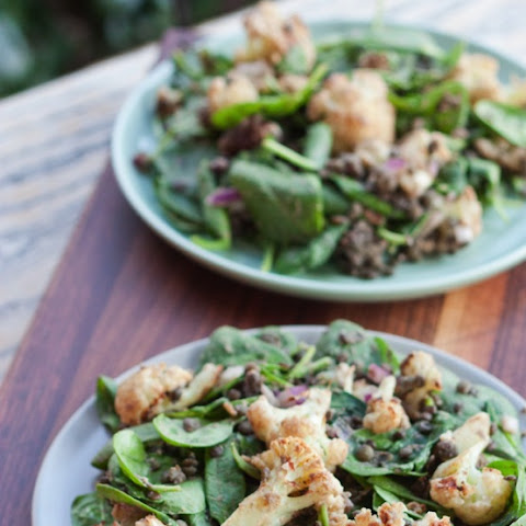 Roasted Cauliflower and Lentil Salad