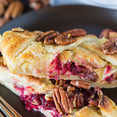 Cranberry Cheesecake Pastry Braid