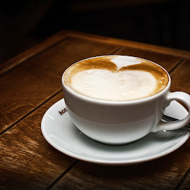 Cappuccino by Dmitriev Dmitry - Food & Drink Candy & Dessert ( cappuccino, drink, coffee )