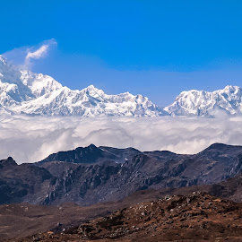Winter earth  by Amrita Bhattacharyya - Landscapes Mountains & Hills