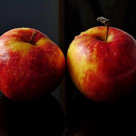 HEALTHY FRUITS by Wojtylak Maria - Food & Drink Fruits & Vegetables ( tasty, red, food, fruits, apples,  )