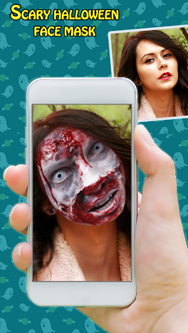 Halloween Face Changer - Halloween costume maker Screenshot