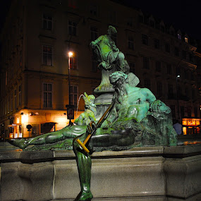 My Photo Journal ~ Vienna, Austria ~ Summer 2017 by Ray Anthony Di Greco - City,  Street & Park  Fountains ( city, sculpture )