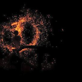 Un minunat spectacol cu foc si o poveste pe masura...  by Bogdan Nadolu - People Musicians & Entertainers