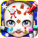 Baby Face Art Paint Icon