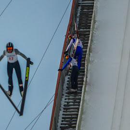US Olympic Trial Ski Jumping 5 by Tom Anderson - Sports & Fitness Snow Sports ( olympics, ski jumping )