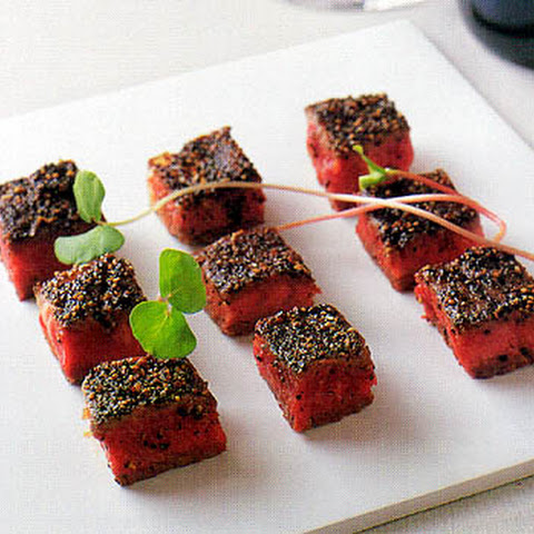 Bite-sized Pepper Steaks